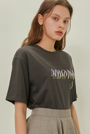 A AMONG LOGO TS_CHARCOAL