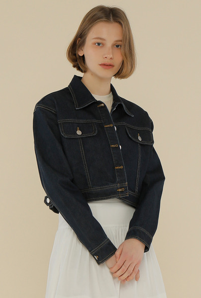 DENIM CROP JK_NAVY