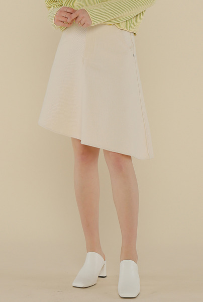 A FLARE COTTON SK_IVORY