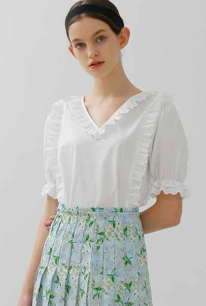 A FRILL LACE BL_WHITE